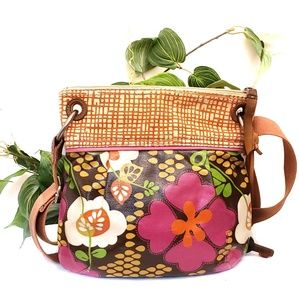 Fossil floral print purse